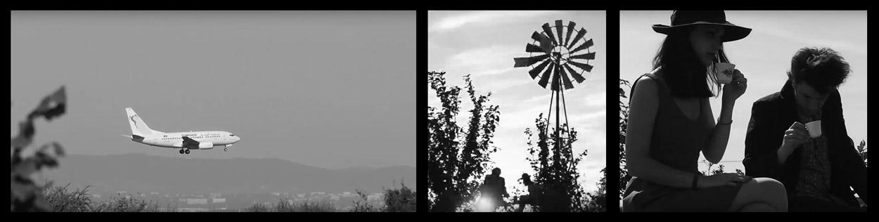 Haizi Beizi clip Le Poete Album Carabine - panneau 2