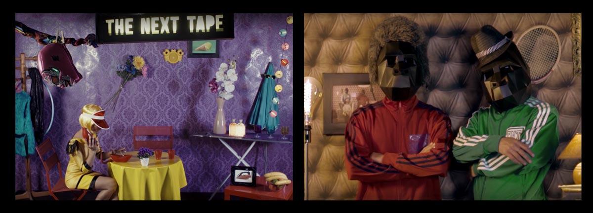 The next tape - fancy toy - couleurs pop