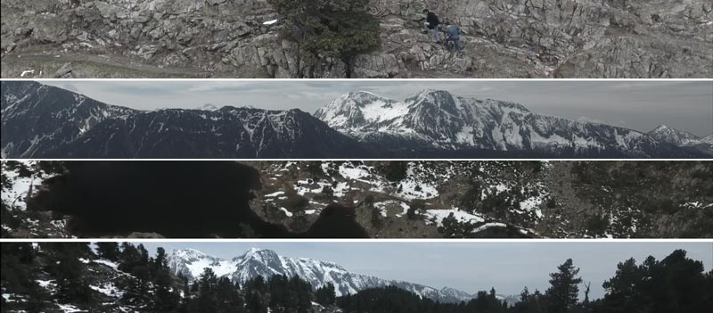There s a way - Clip Remi Guirao - paysage belledonne lac achard