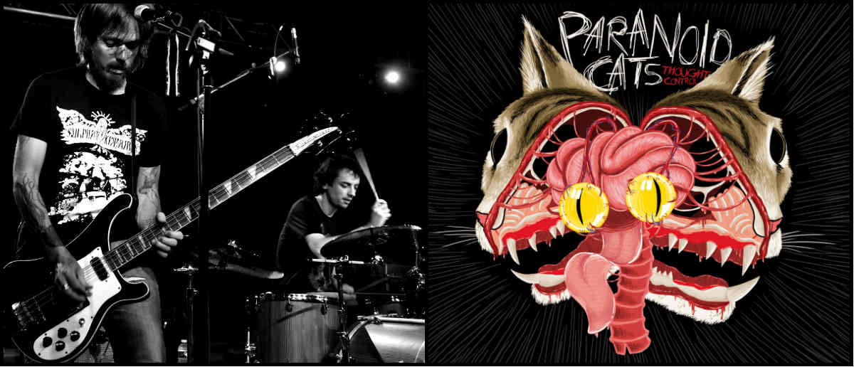paranoid cats - though control - grunge - metal - rock