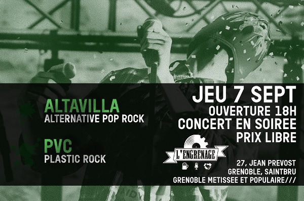 altavilla - pop rock - the conquest of gravity