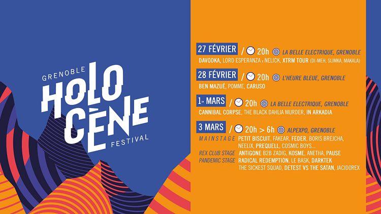 holocene 2018 - festival holocene - programmation holocene 2018