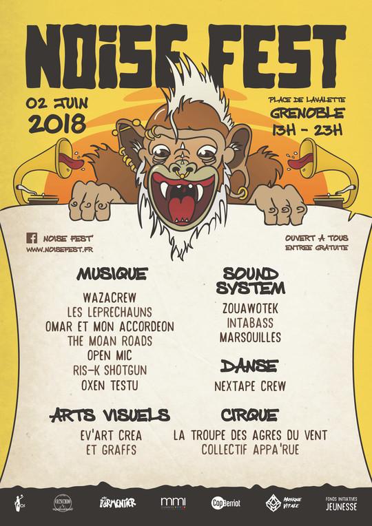 noise fest' - noise festival - festival grenoble - festivals grenoble