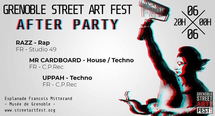 grenoble street art fest - street art fest 2018 - razz - uppah - mr cardboard