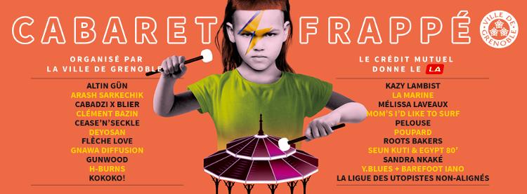 cabaret frappe 2018 programmation