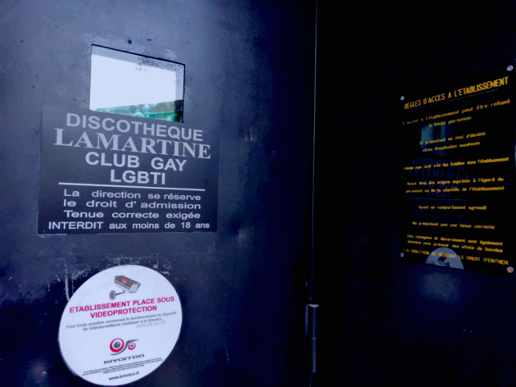 Les portes du Lamartine